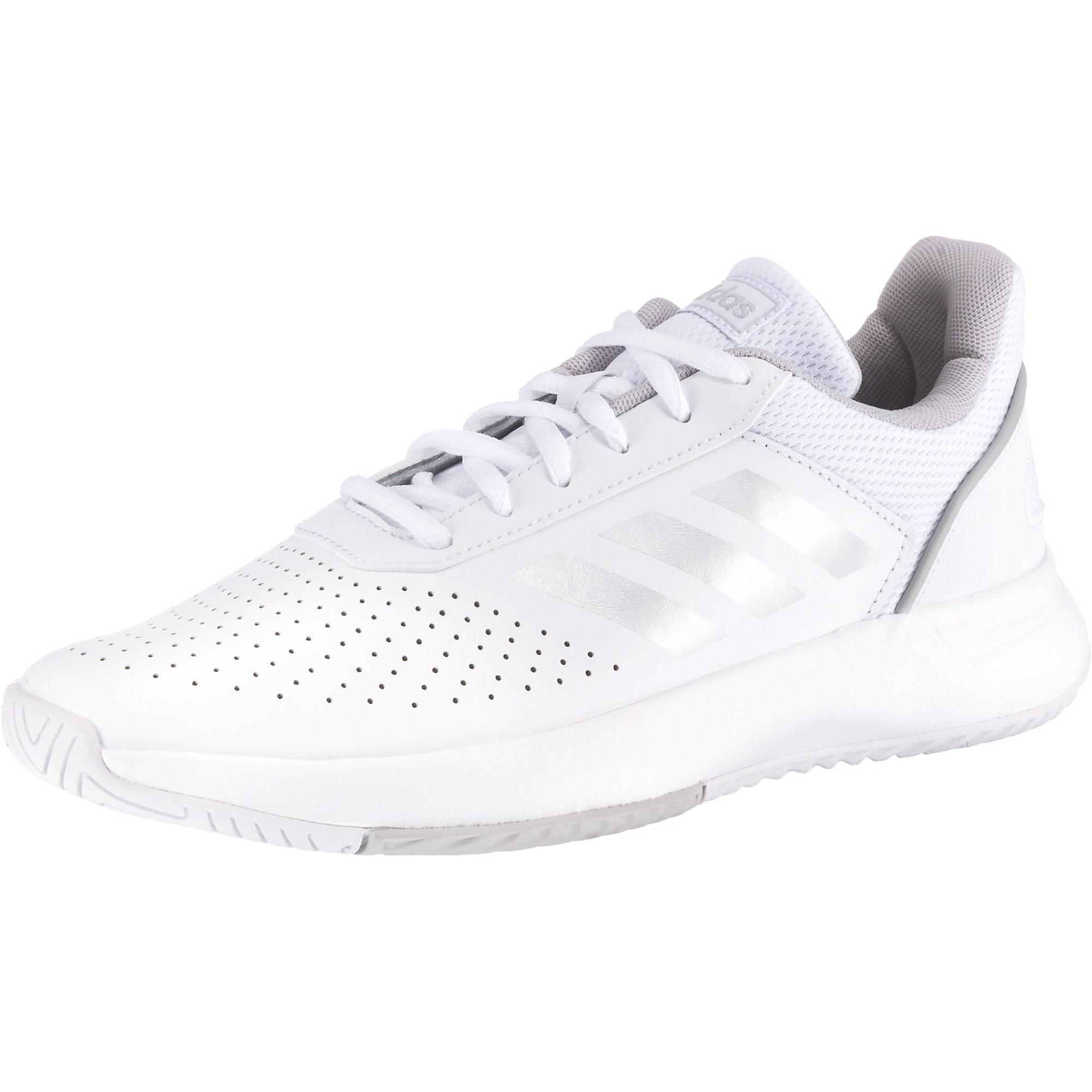 ADIDAS PERFORMANCE Sportiniai batai 'Courtsmash' balta / pilka