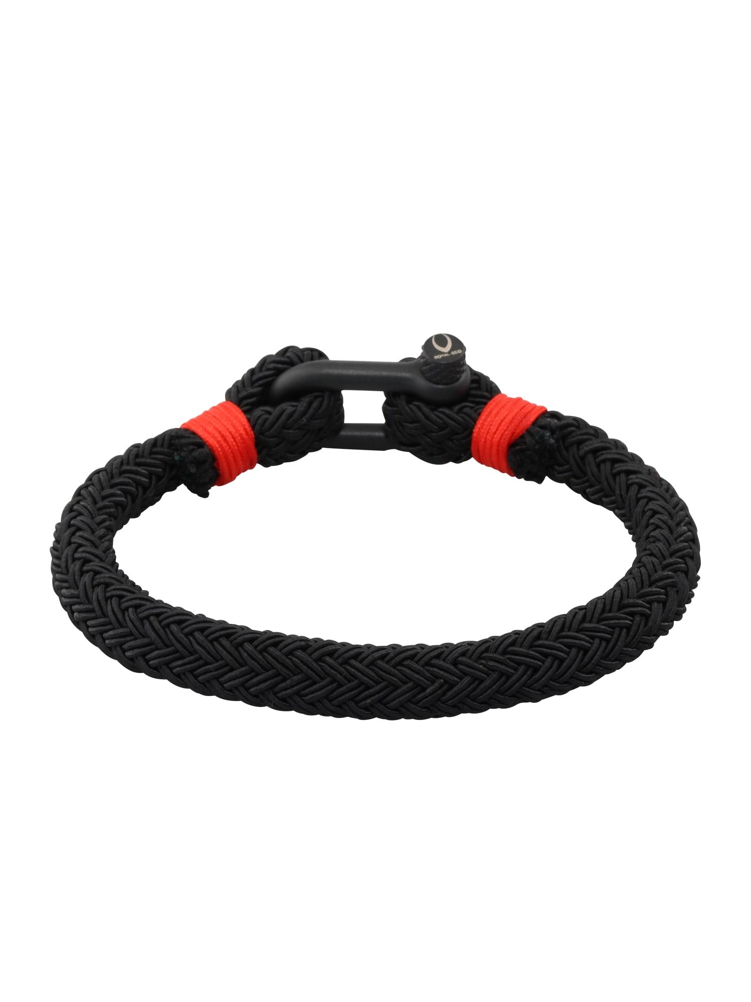 Náramek červená černá ROYAL-EGO