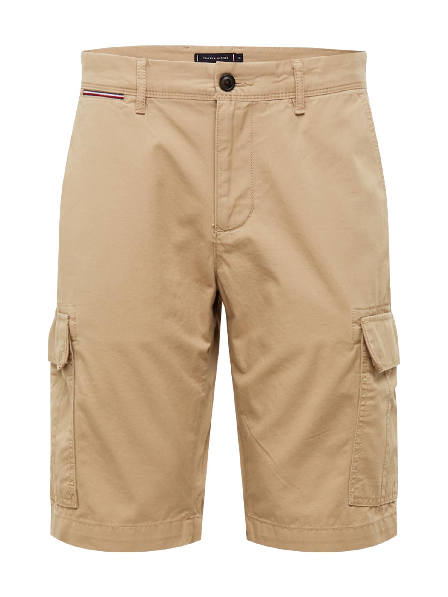 TOMMY HILFIGER Laisvo stiliaus kelnės 'John' šviesiai ruda