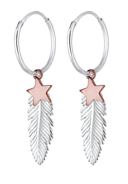 Ohrringe für Frauen - ELLI Ohrringe 'Astro' rosé silber  - Onlineshop ABOUT YOU
