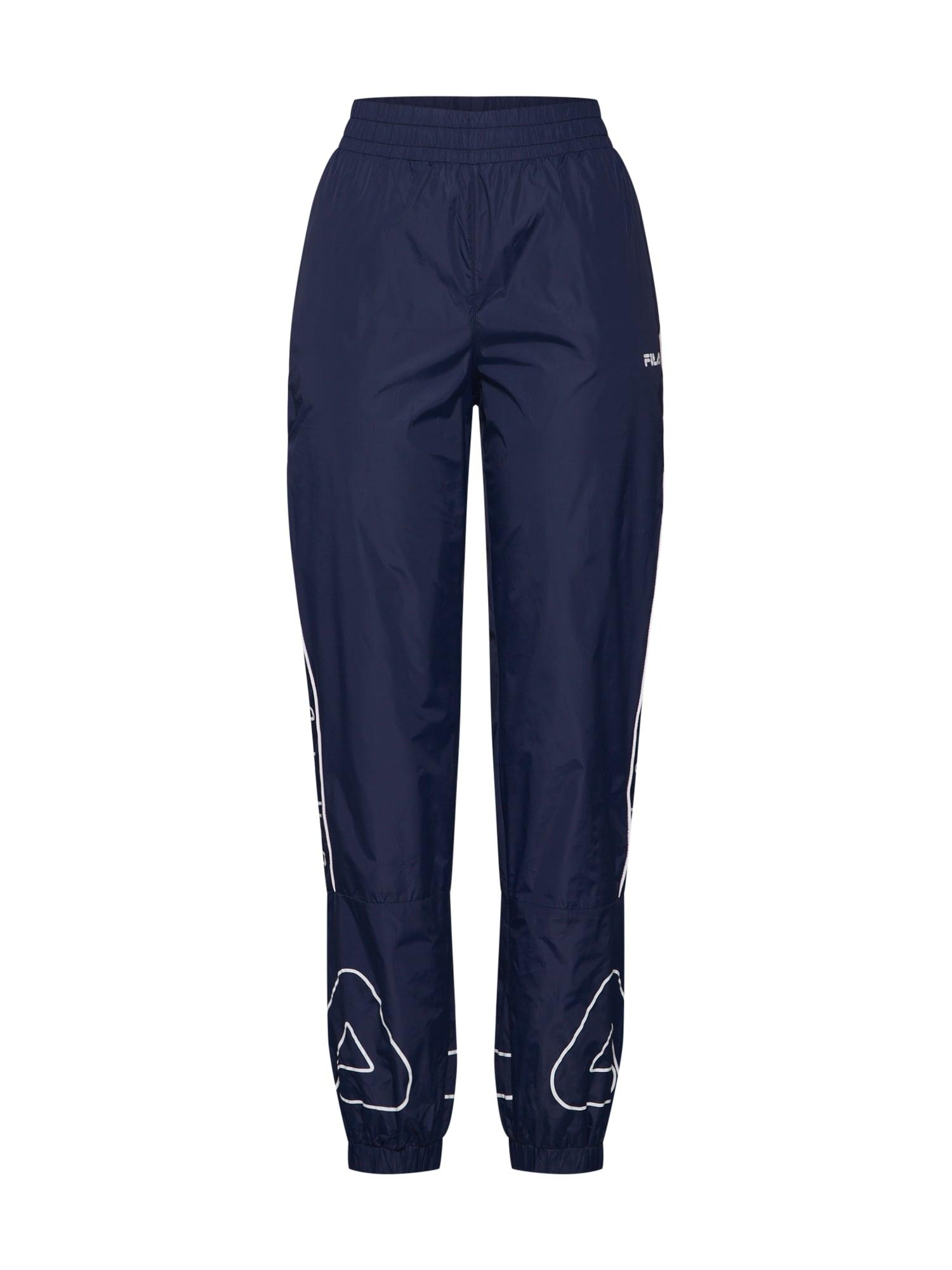 Kalhoty VANESSA Wind Pant námořnická modř bílá FILA