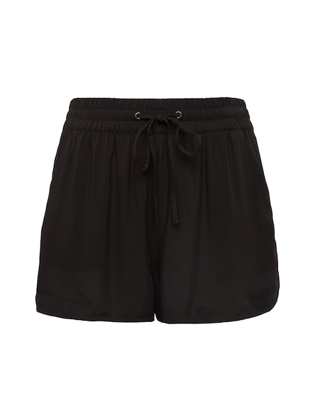 Hosen für Frauen - TOM TAILOR DENIM Shorts schwarz  - Onlineshop ABOUT YOU