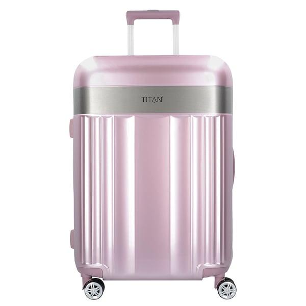 Reisegepaeck - Trolley 'Spotlight Flash M' › Titan › grau pink  - Onlineshop ABOUT YOU