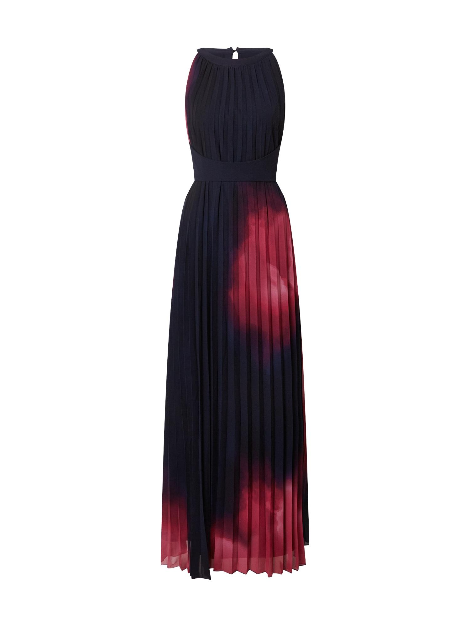 APART Vakarinė suknelė raudona / juoda