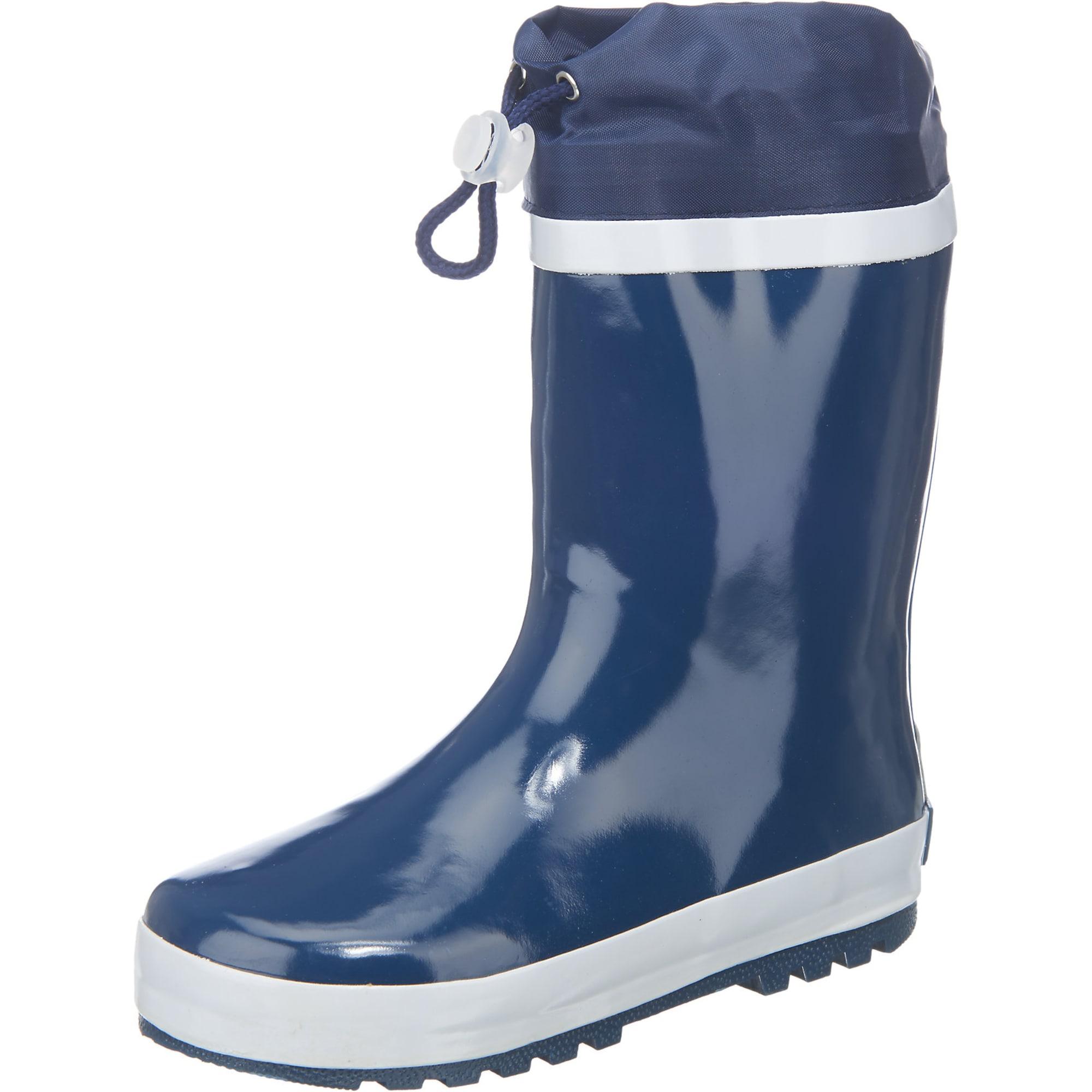 PLAYSHOES Guminiai batai balta / tamsiai mėlyna