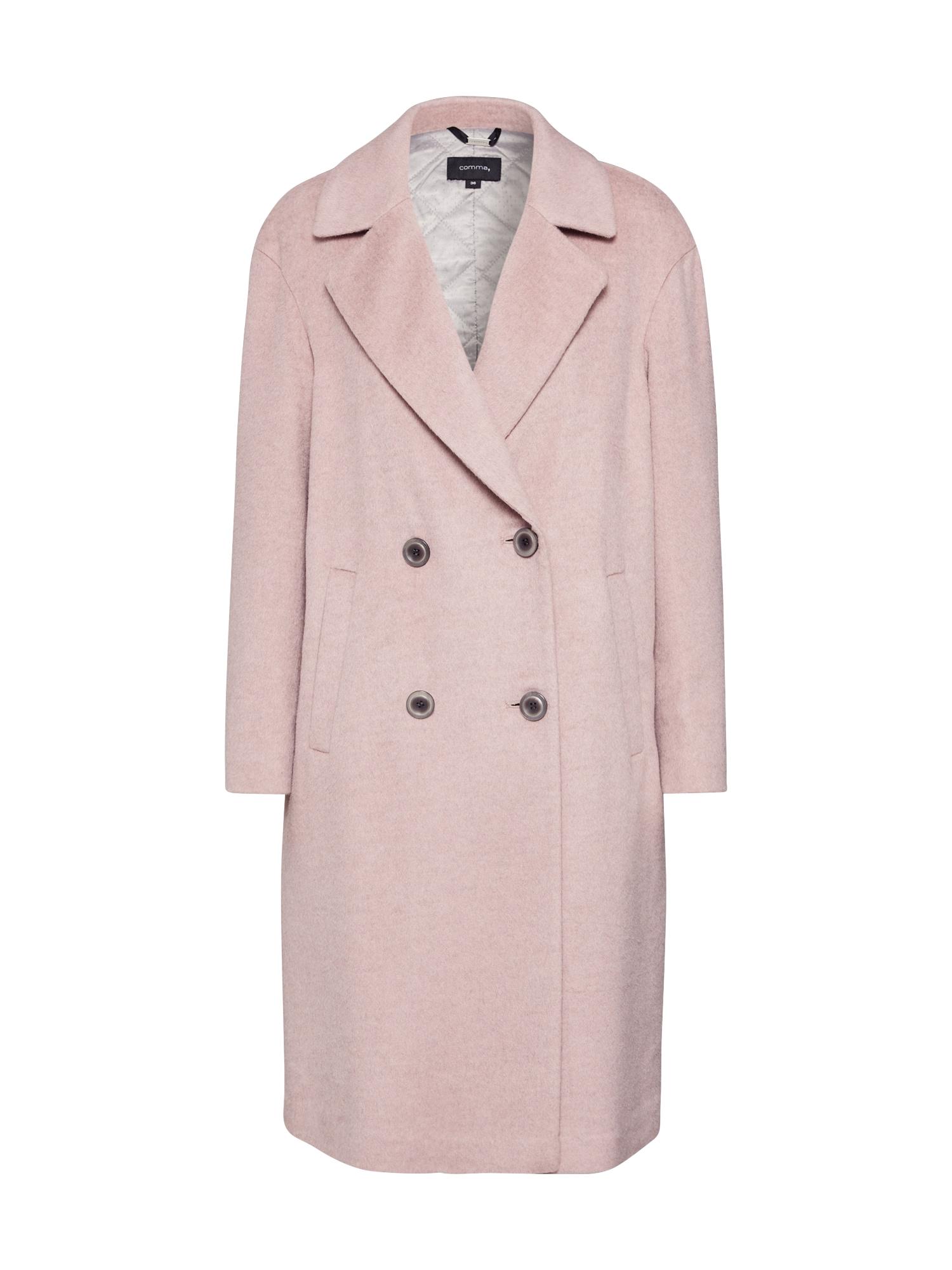COMMA Žieminis paltas rožinė