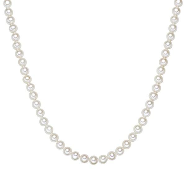 Ketten für Frauen - Valero Pearls Kette mit Süßwasser Zuchtperlen weiß  - Onlineshop ABOUT YOU