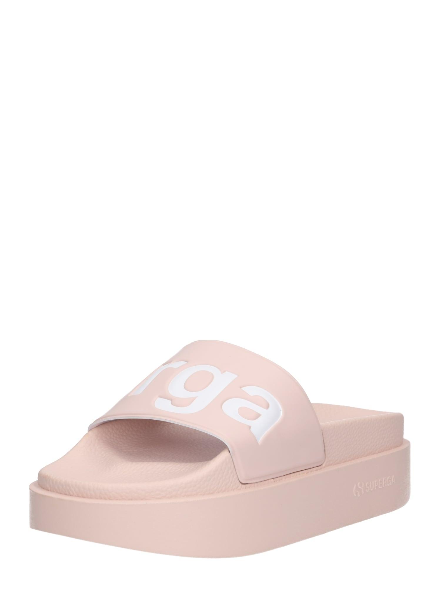Pantofle 1919 - PUW béžová růžová SUPERGA