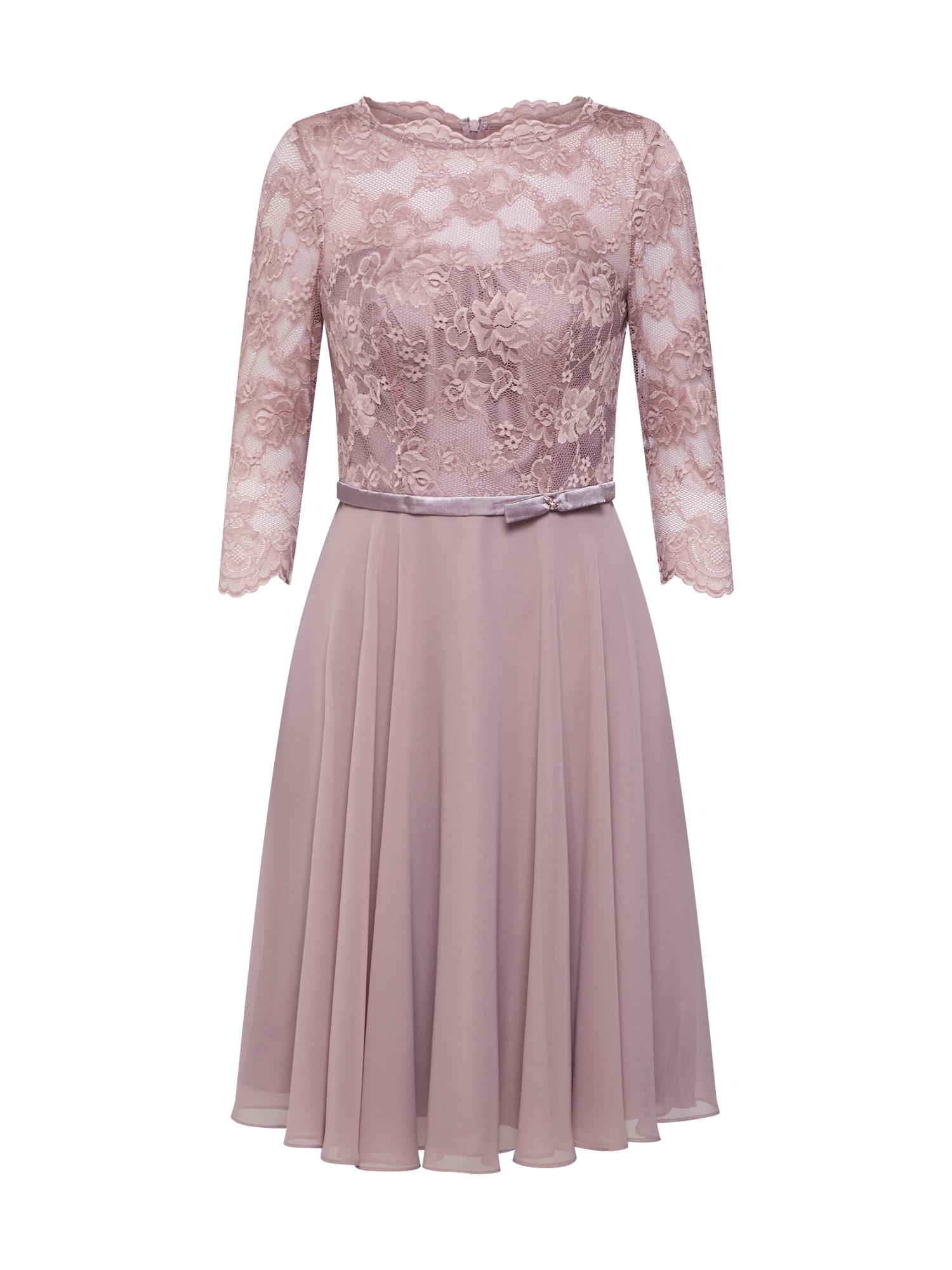 mascara Kokteilinė suknelė ryškiai rožinė spalva
