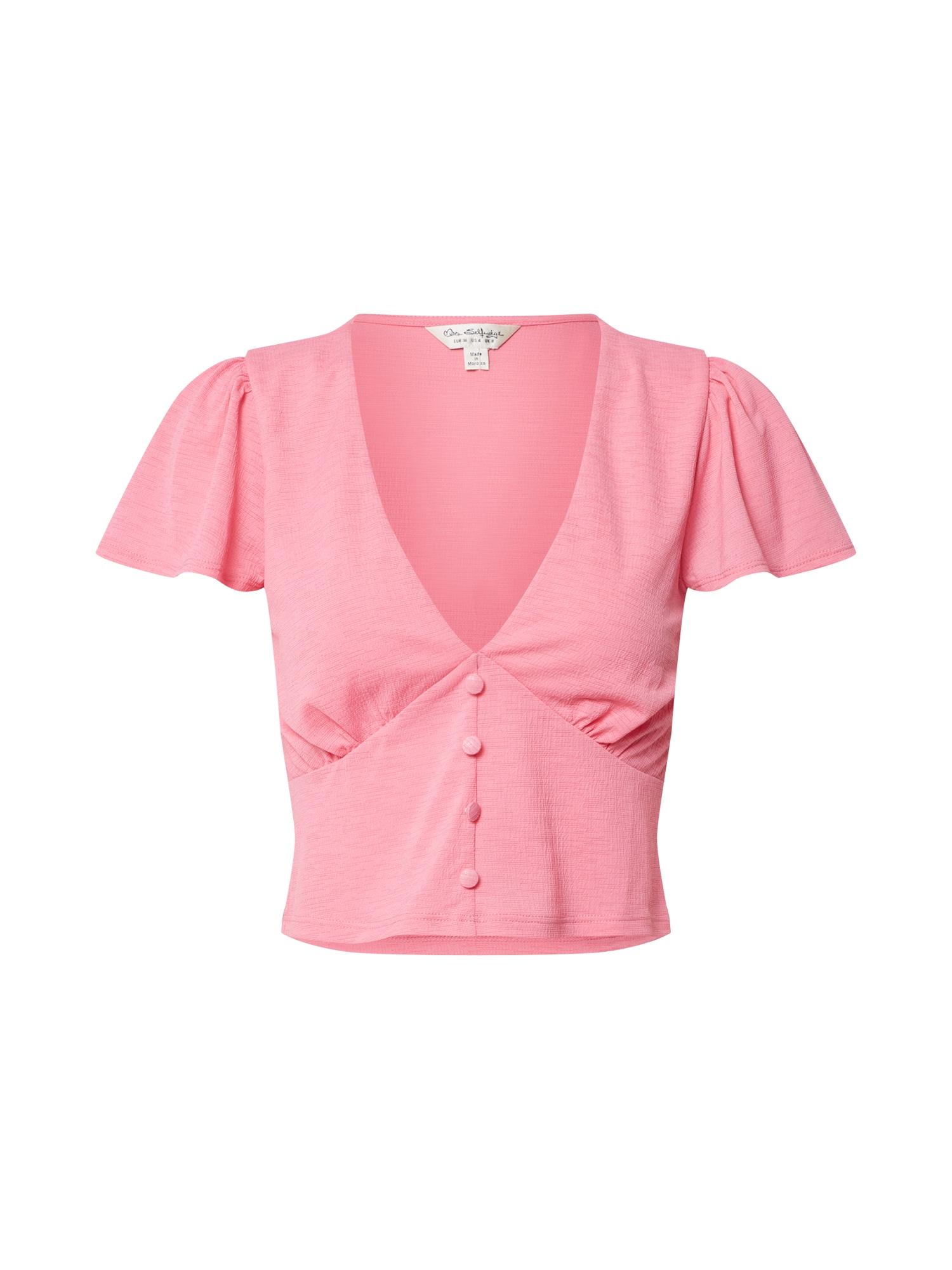 Miss Selfridge Marškinėliai rožinė