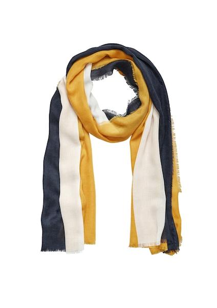 Schals für Frauen - S.Oliver RED LABEL Schal nachtblau goldgelb weiß  - Onlineshop ABOUT YOU