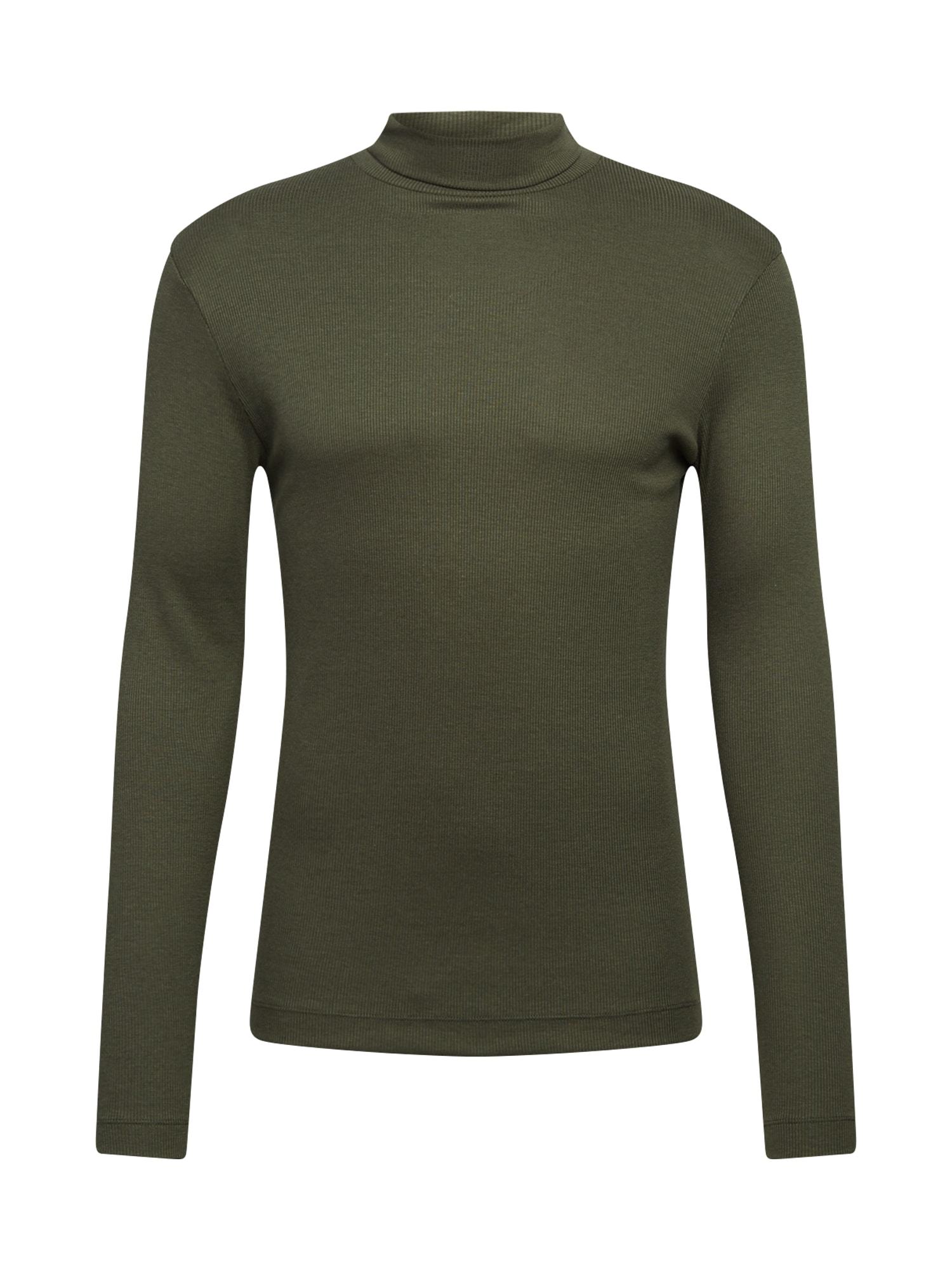 DRYKORN Marškinėliai 'MIGUEL' rusvai žalia