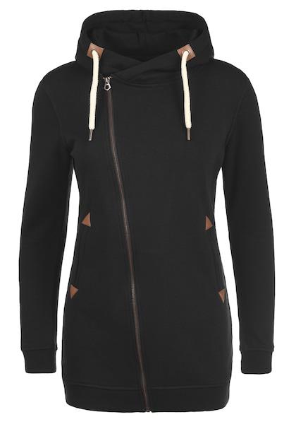 Jacken für Frauen - Desires Kapuzensweatjacke 'Vicky' schwarz  - Onlineshop ABOUT YOU