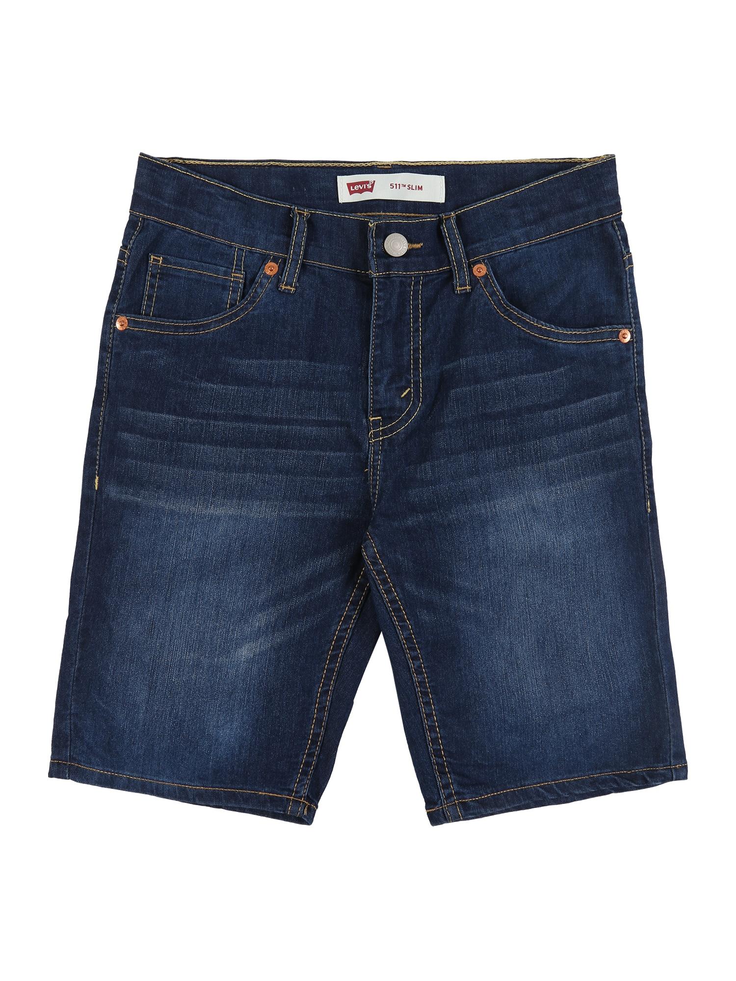 LEVI'S Kelnės '511' tamsiai (džinso) mėlyna