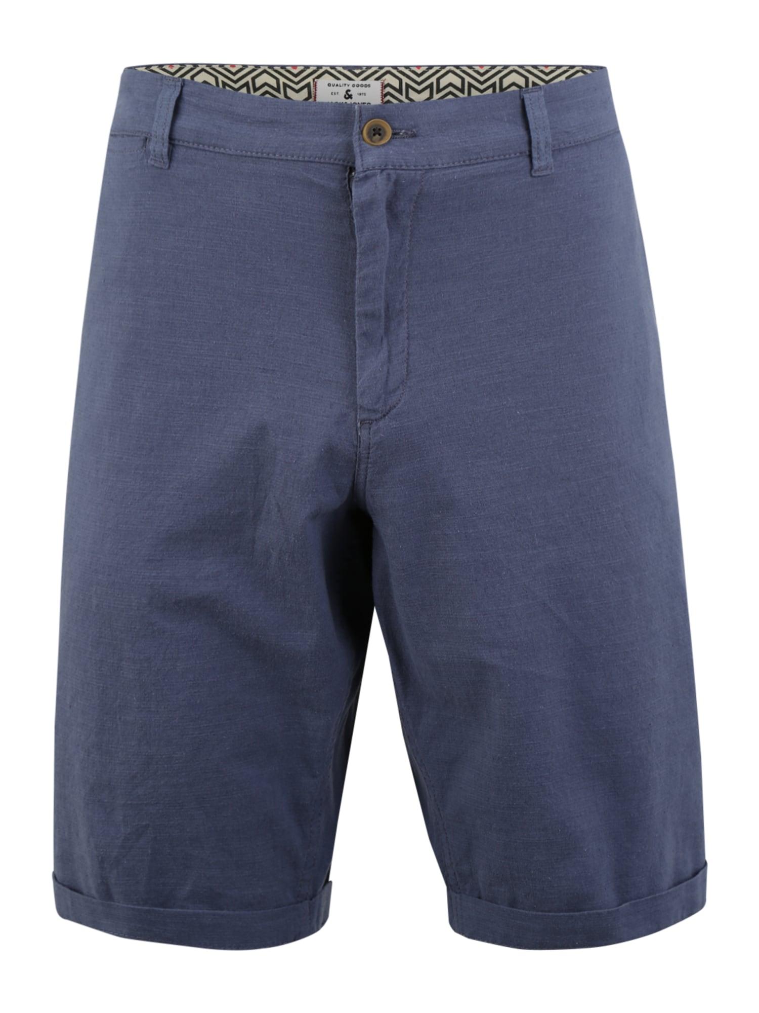"""Jack & Jones Plus """"Chino"""" stiliaus kelnės mėlyna"""