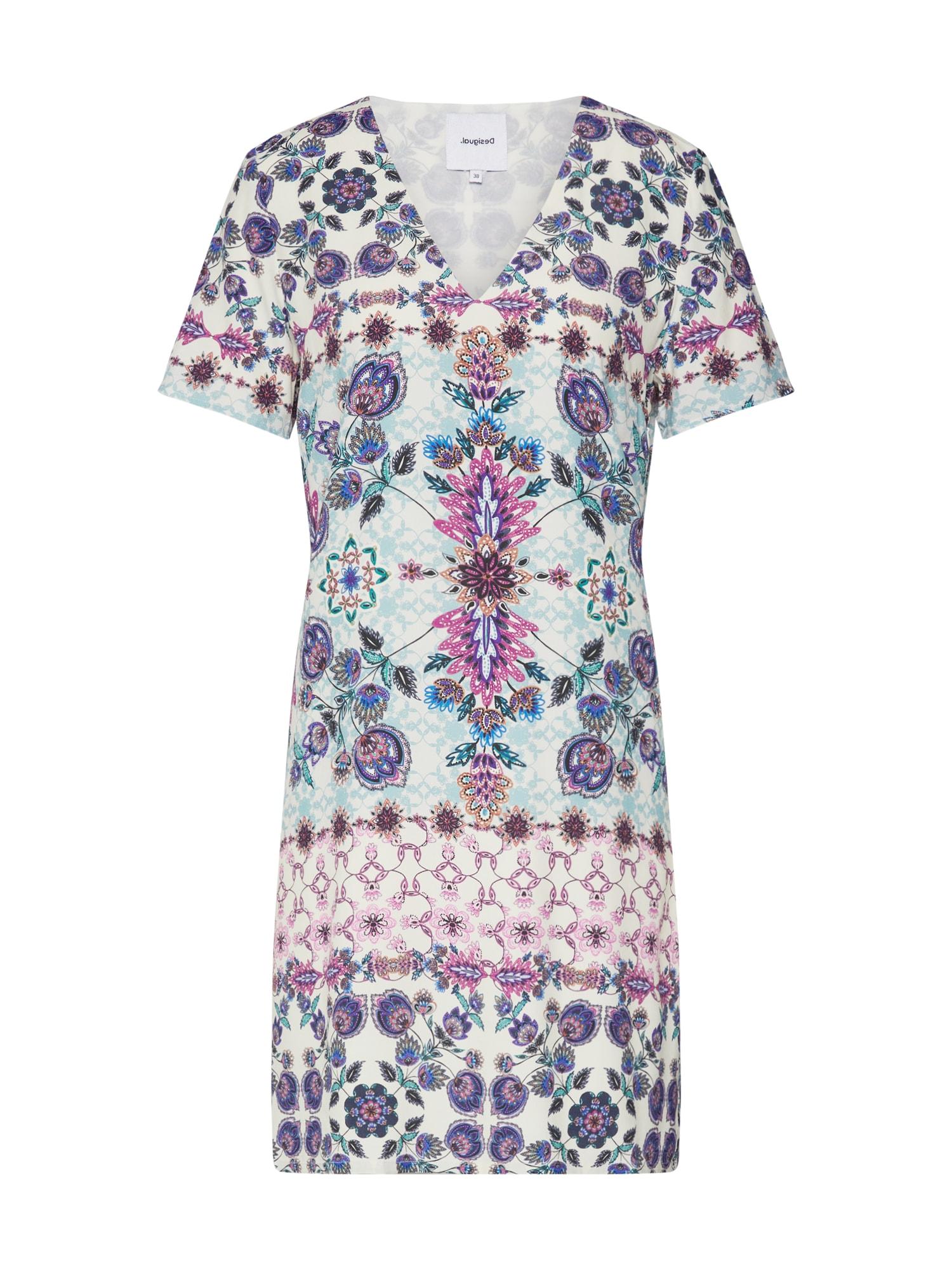 Desigual Vasarinė suknelė 'VEST YUKON' mišrios spalvos / šviesiai mėlyna