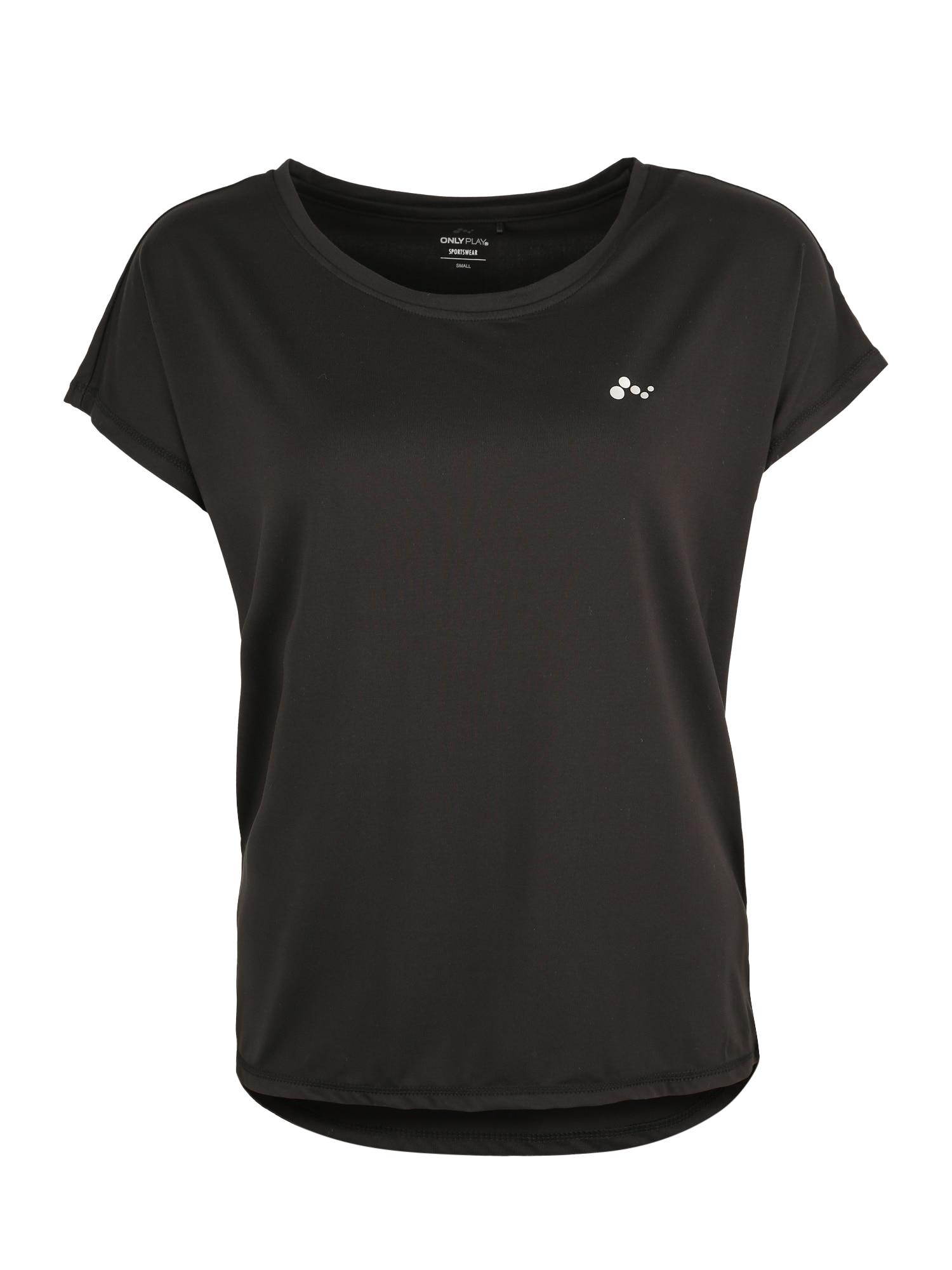 ONLY PLAY Funkční tričko 'Aubree'  černá