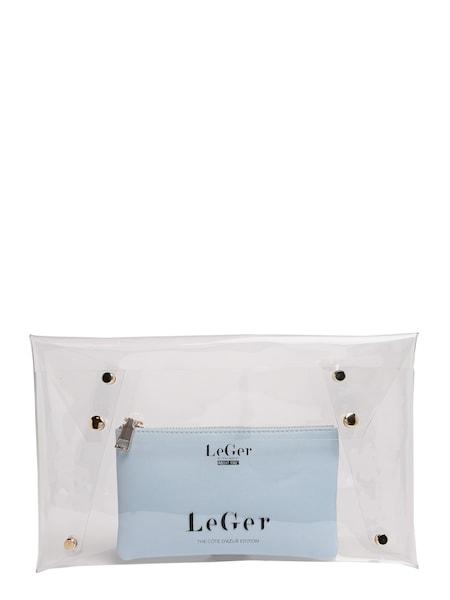 Clutches - Clutch 'Elaine' › LeGer By Lena Gercke › petrol transparent  - Onlineshop ABOUT YOU