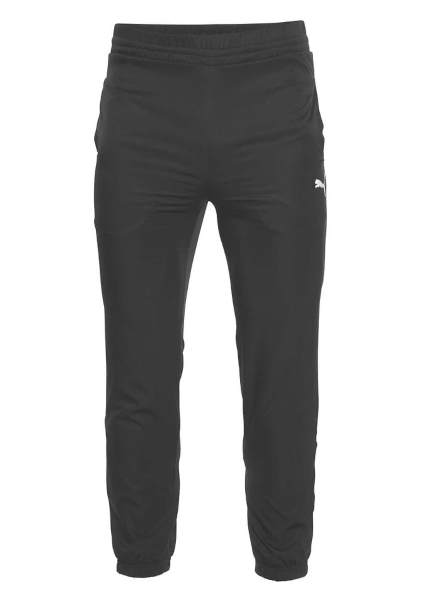 PUMA Sportinės kelnės 'ACTIVE ESS WOVEN PANTS' juoda