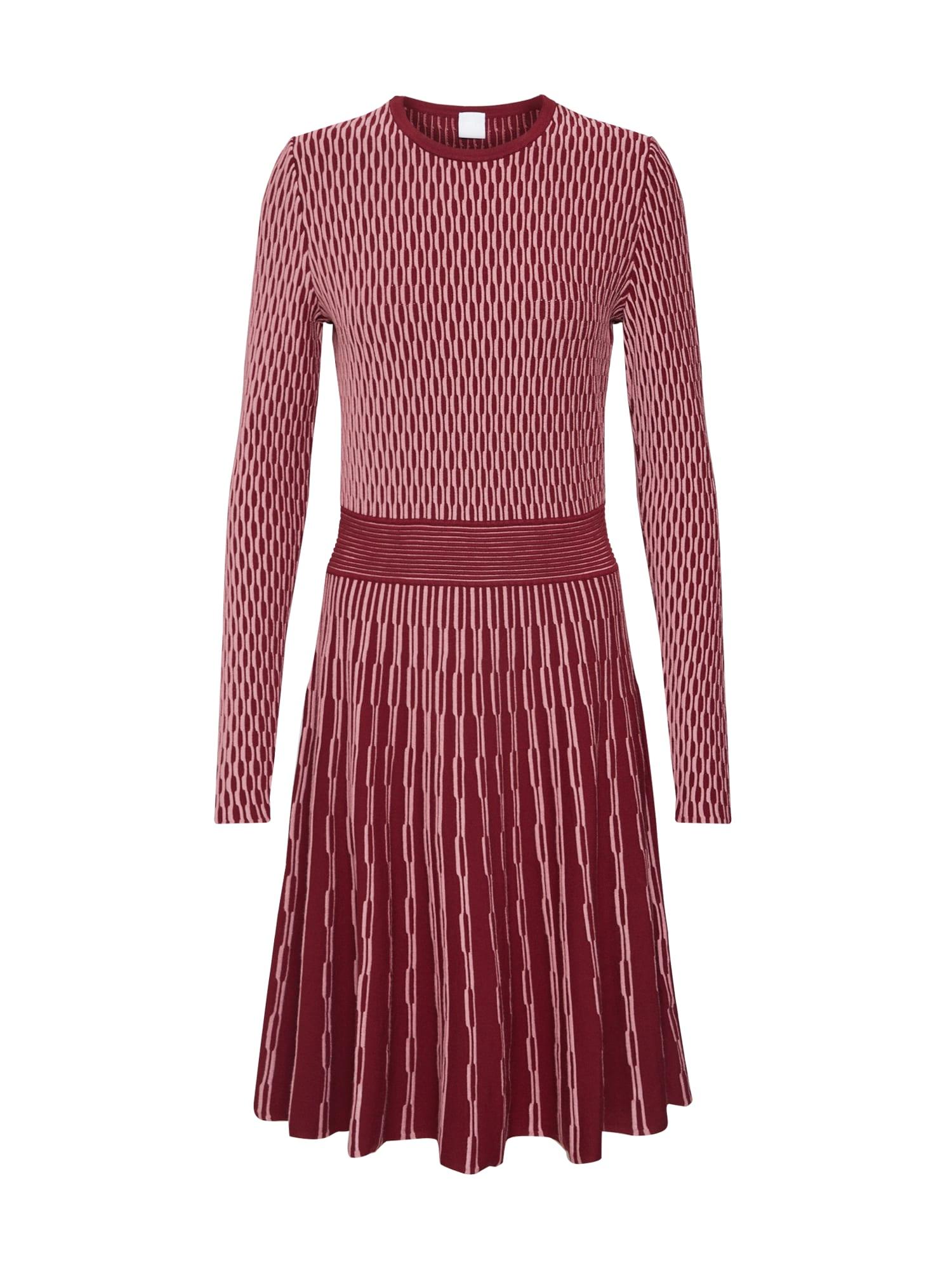 BOSS Megzta suknelė 'Illoran' raudona