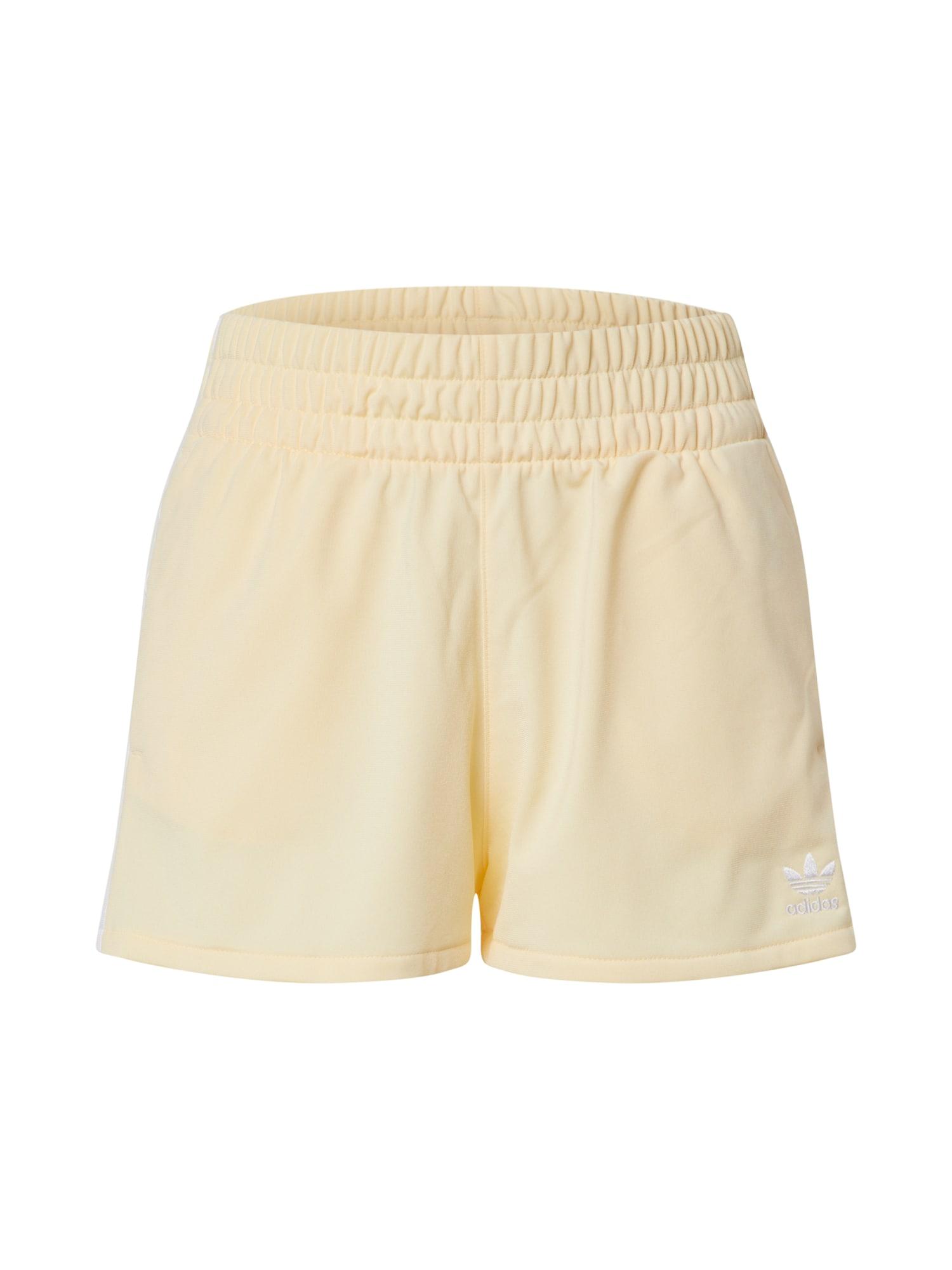 ADIDAS ORIGINALS Kelnės pastelinė geltona