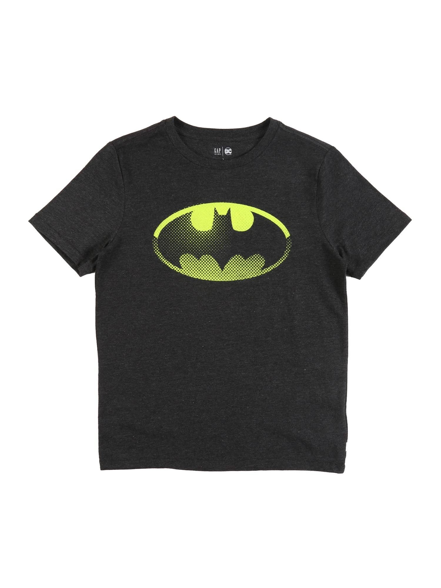 GAP Marškinėliai 'BAS SHIELD' juoda