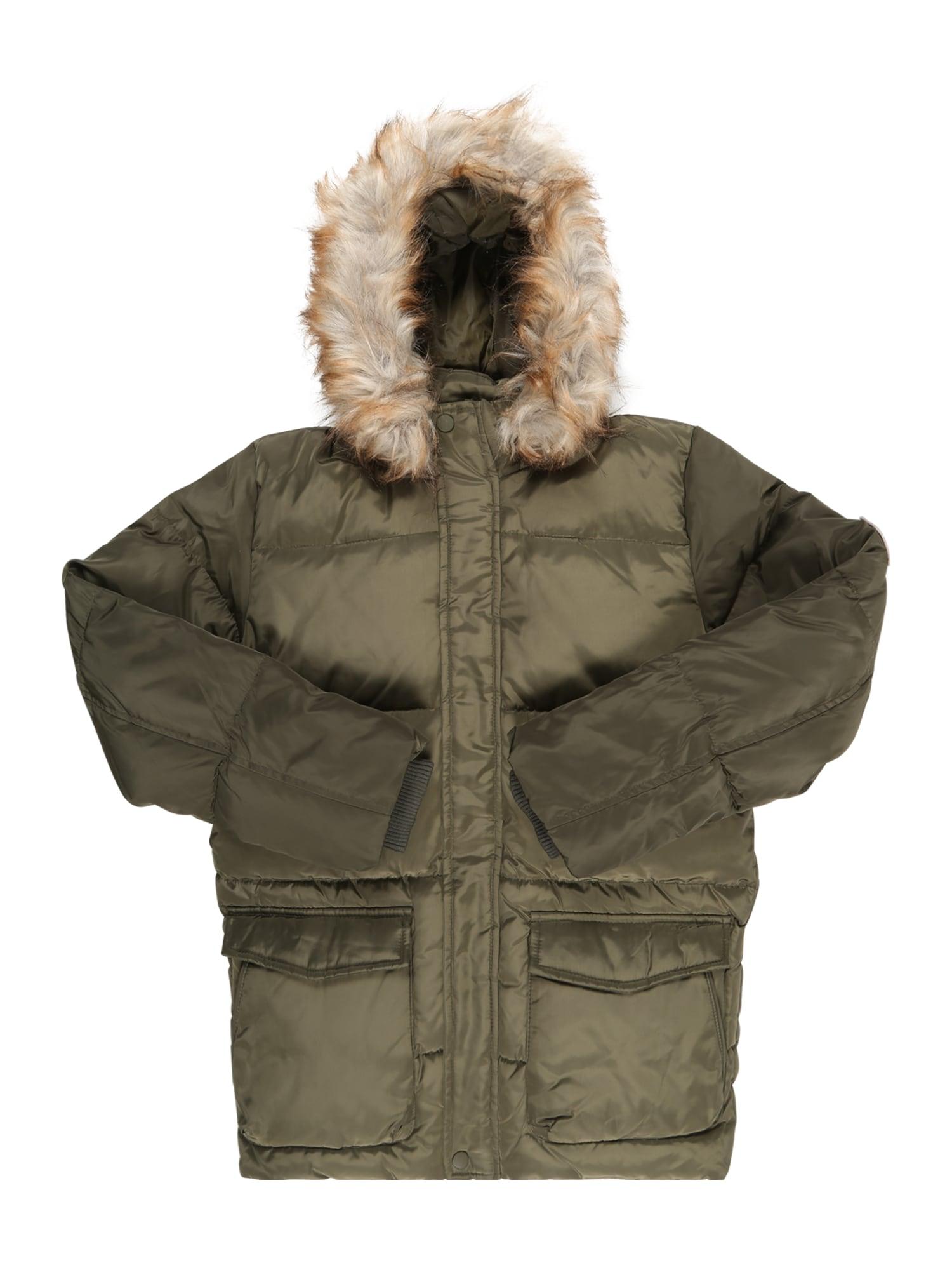 Zimní bunda Nkmmarkos olivová NAME IT