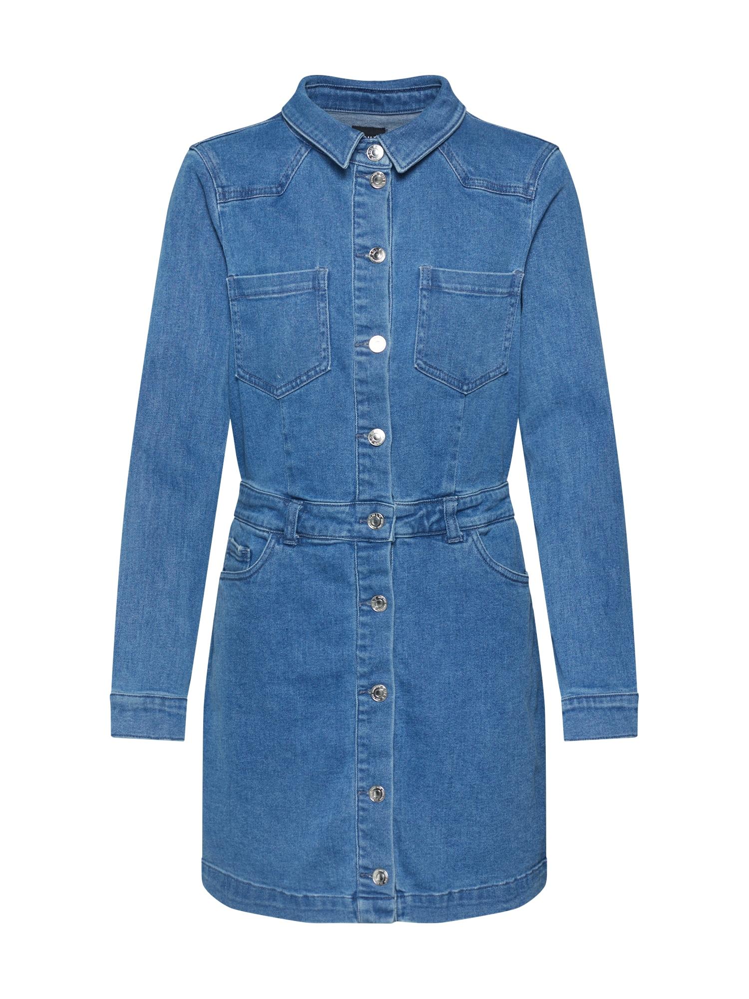 ONLY Palaidinės tipo suknelė tamsiai (džinso) mėlyna