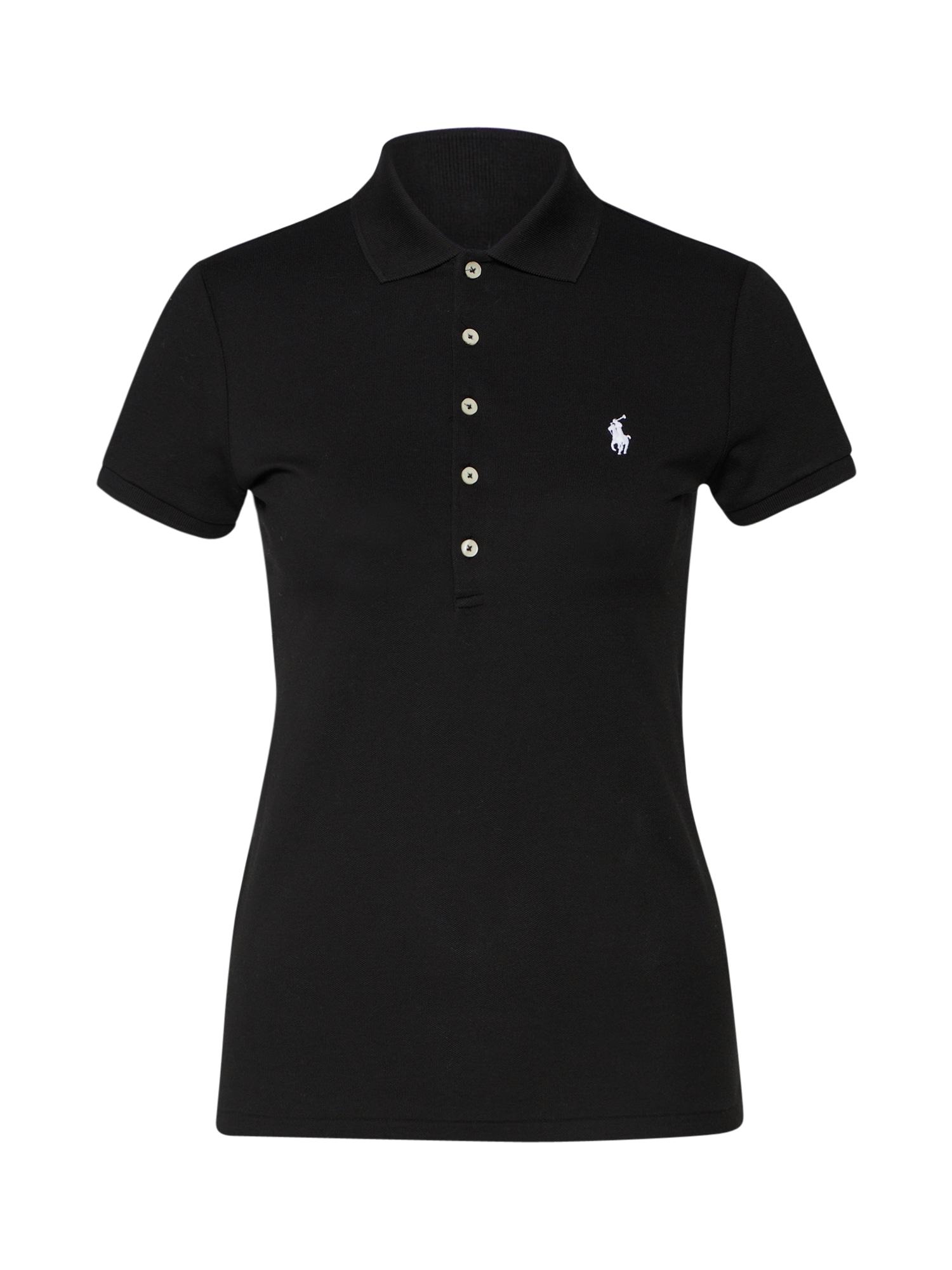 POLO RALPH LAUREN Marškinėliai 'JULIE' juoda