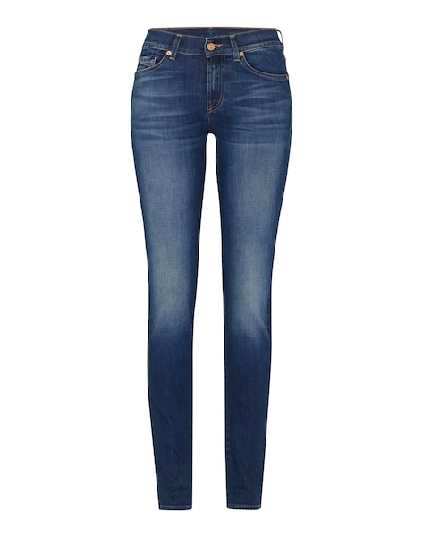 Hosen - 'Roxanne' Skinny Jeans › 7 For All Mankind › blue denim  - Onlineshop ABOUT YOU