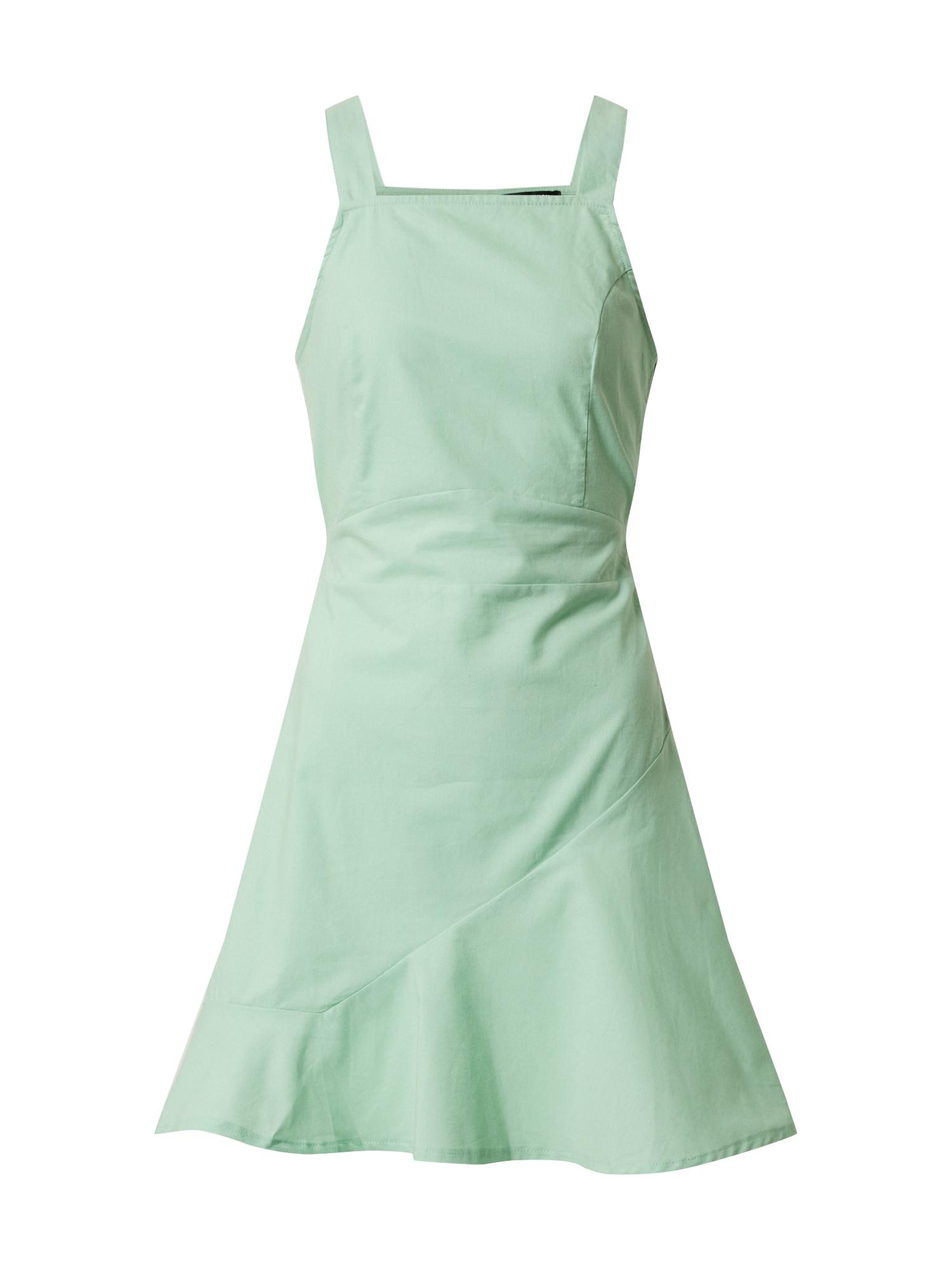 Fashion Union Vasarinė suknelė 'ARTY' pastelinė žalia