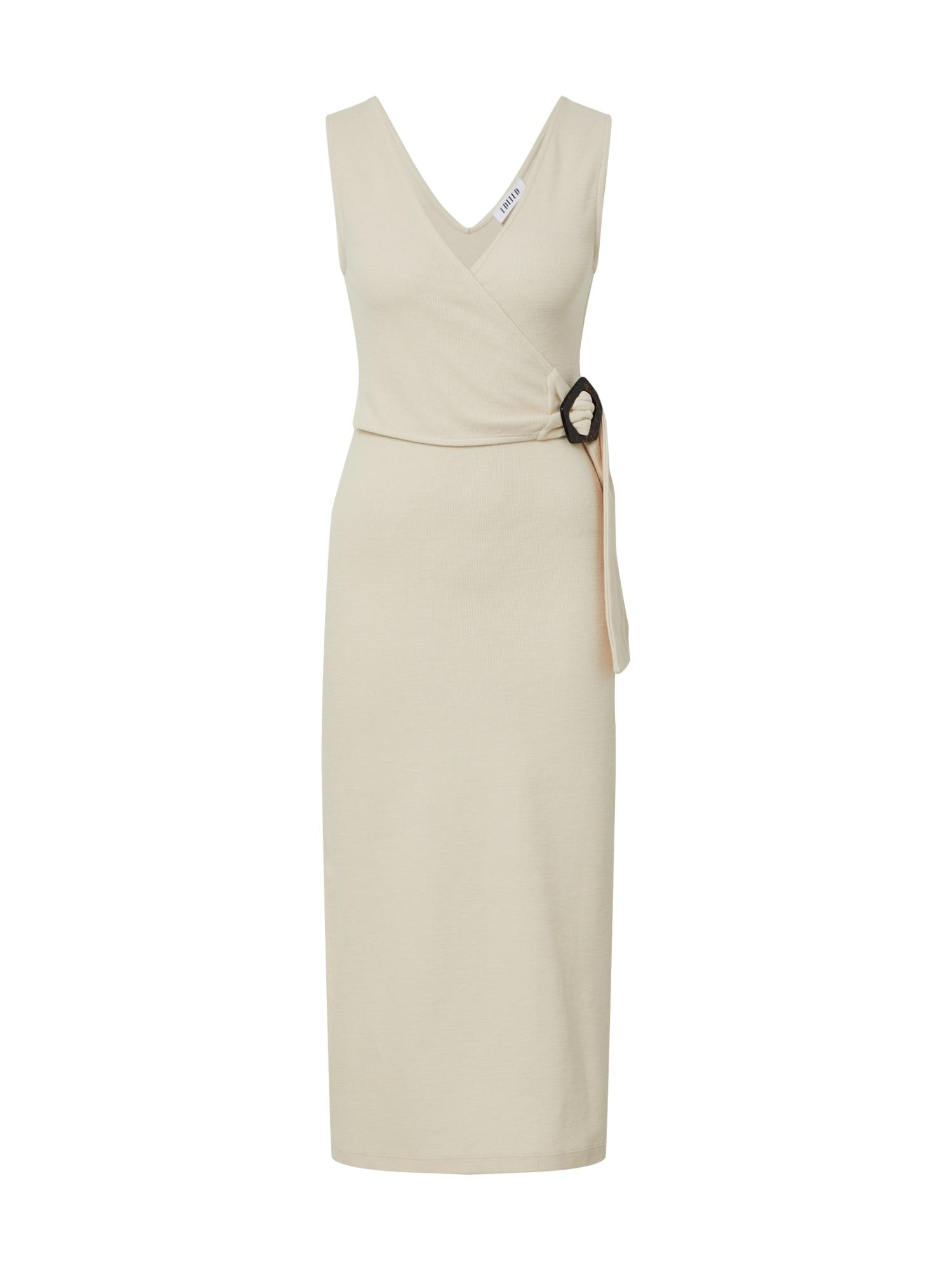 EDITED Vasarinė suknelė 'Varinia' balta / kremo / smėlio