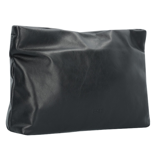Clutches für Frauen - BREE Stockholm 32 Clutch Tasche Leder 33 cm schwarz  - Onlineshop ABOUT YOU