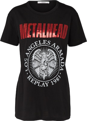 REPLAY TShirt 'METALHEAD'