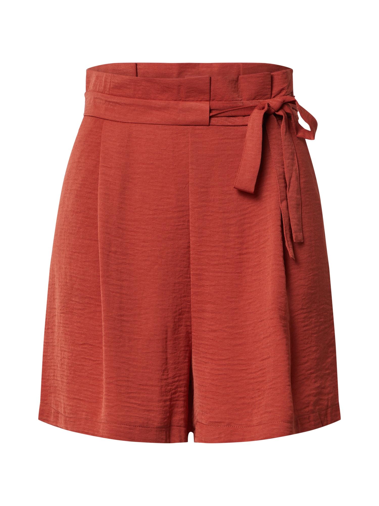 ONLY Plisované nohavice 'AMANDA'  červené