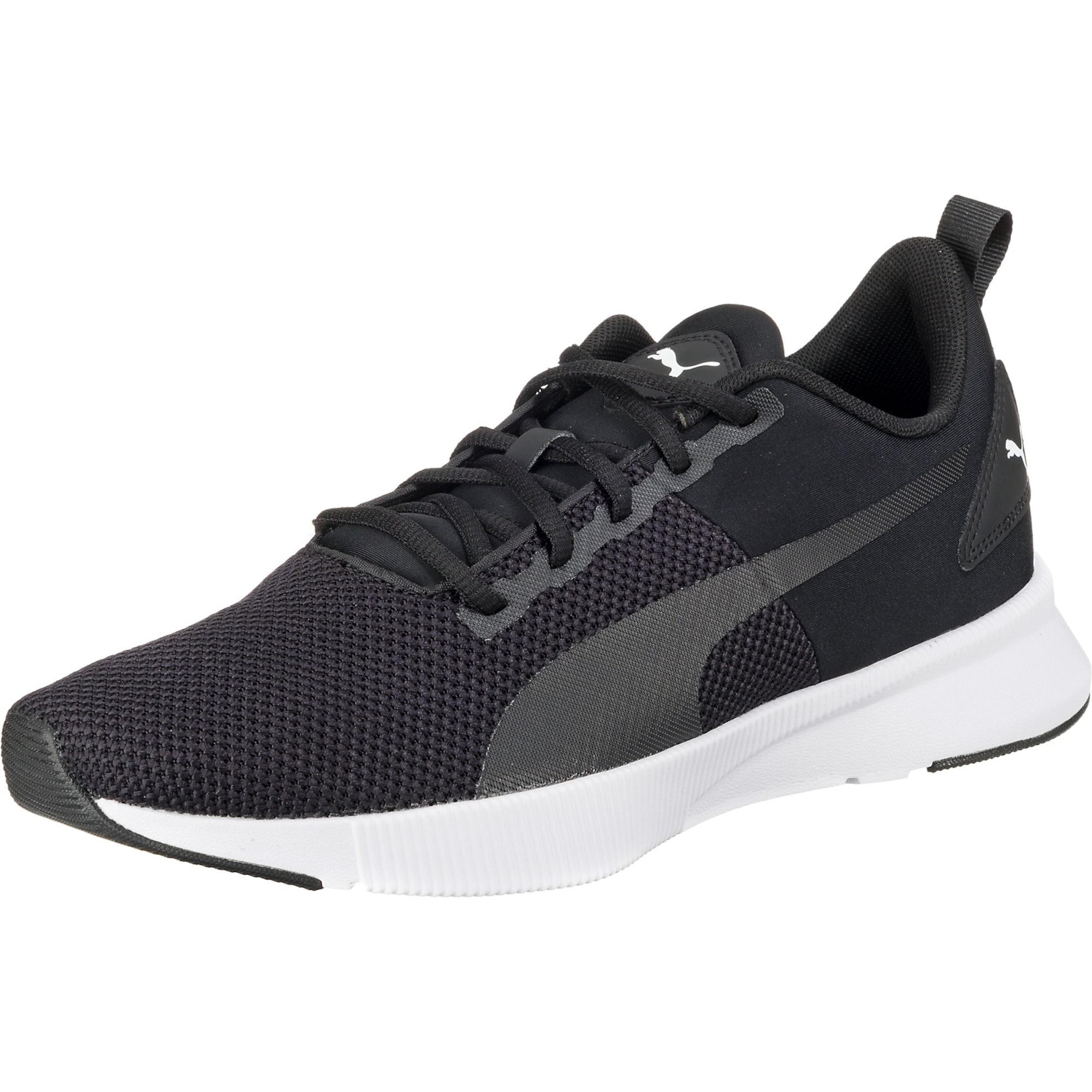 PUMA Bėgimo batai 'Flyer Runner' balta / juoda