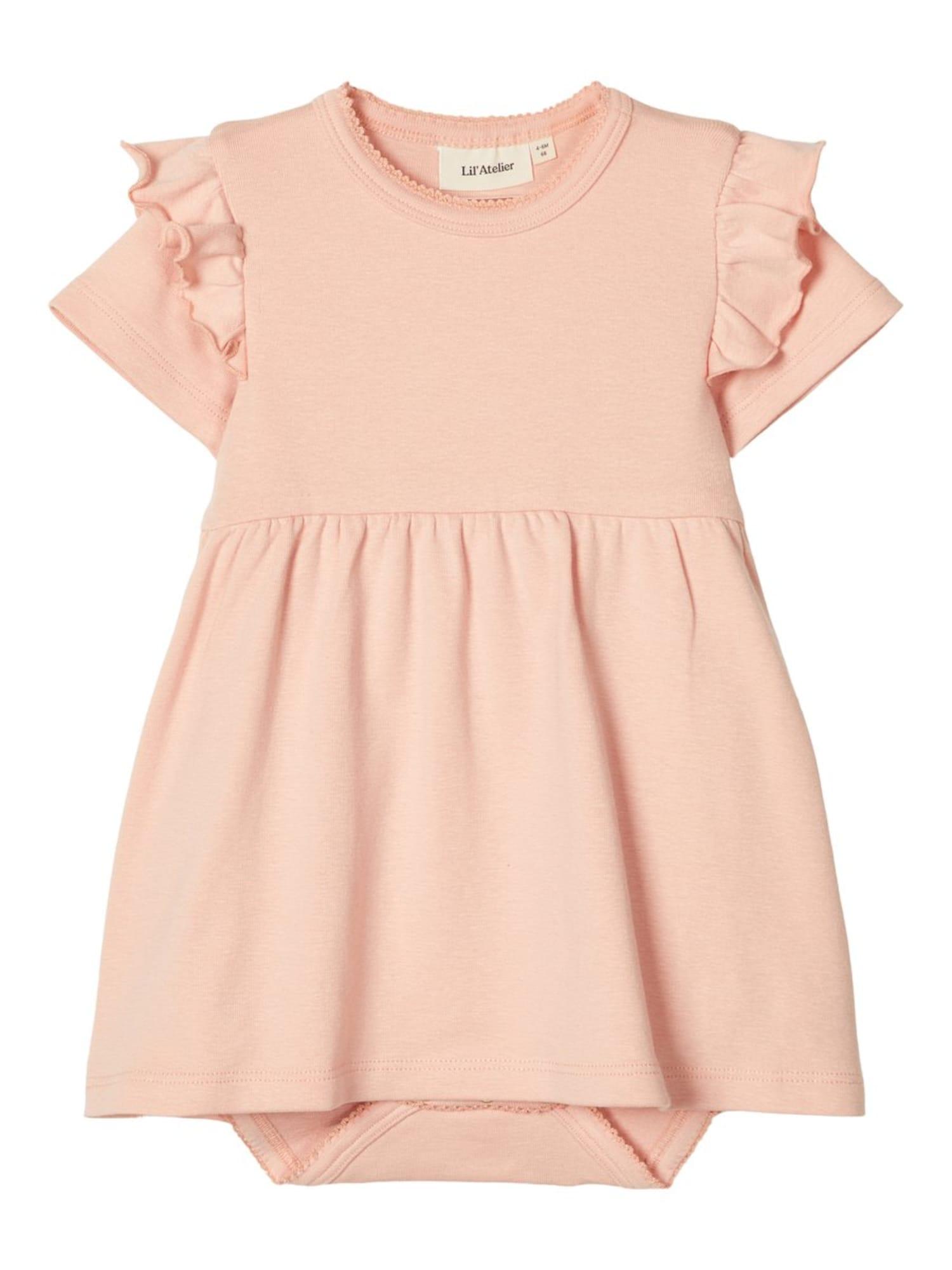 NAME IT Suknelė šviesiai rožinė