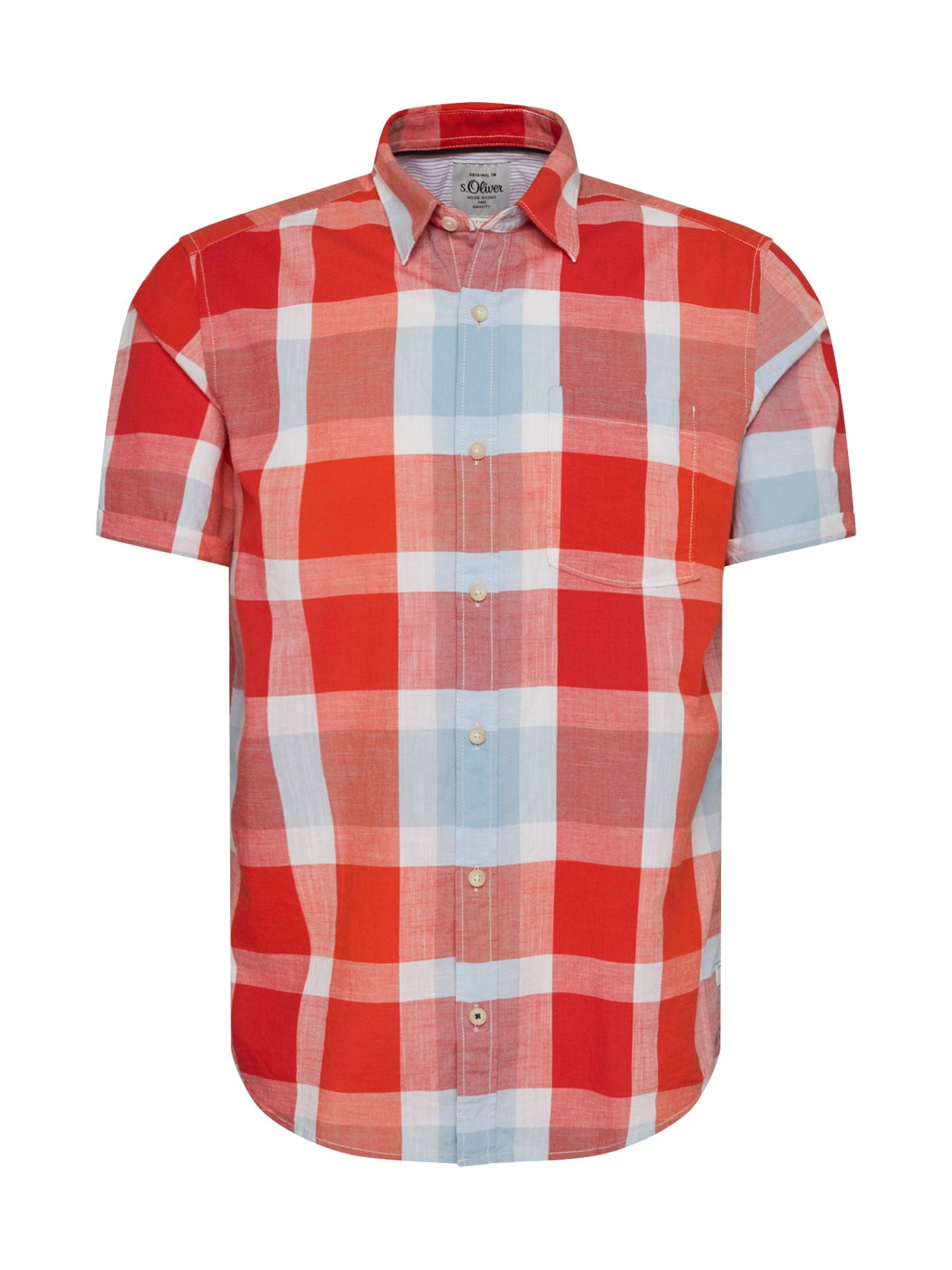 s.Oliver Dalykiniai marškiniai mišrios spalvos