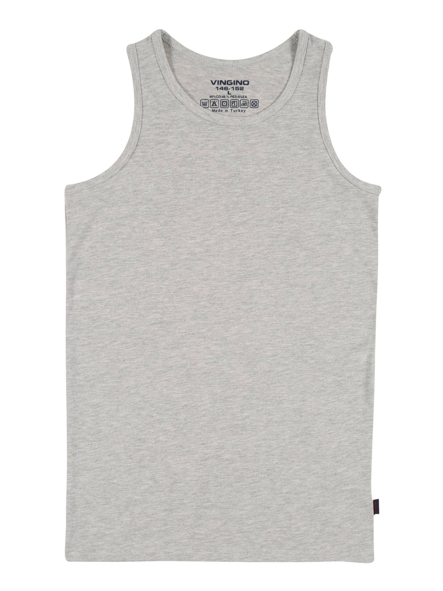 VINGINO Tričko  šedý melír