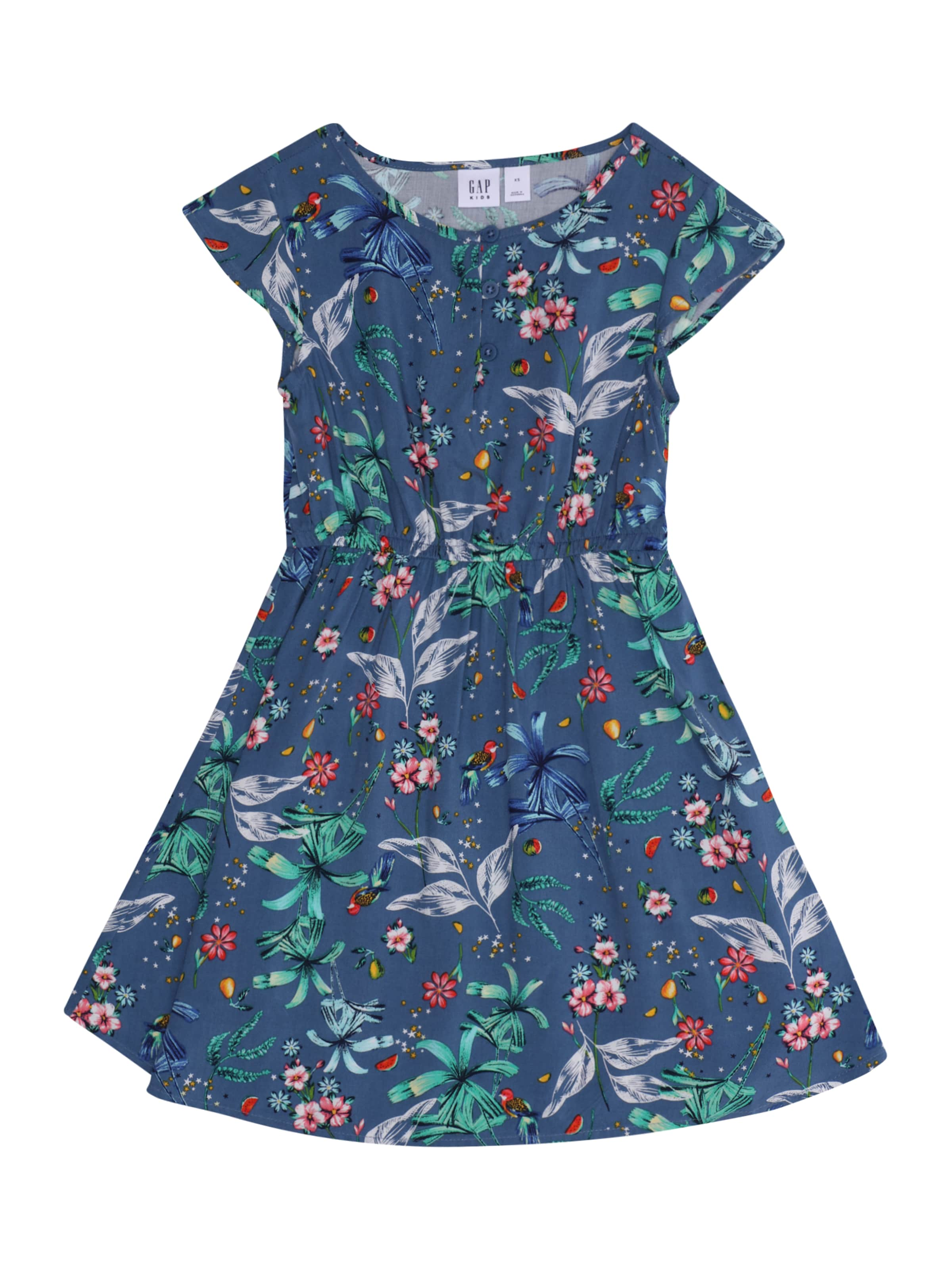 Kinder,  Mädchen,  Kinder GAP Sommerkleid blau | 00500027139092