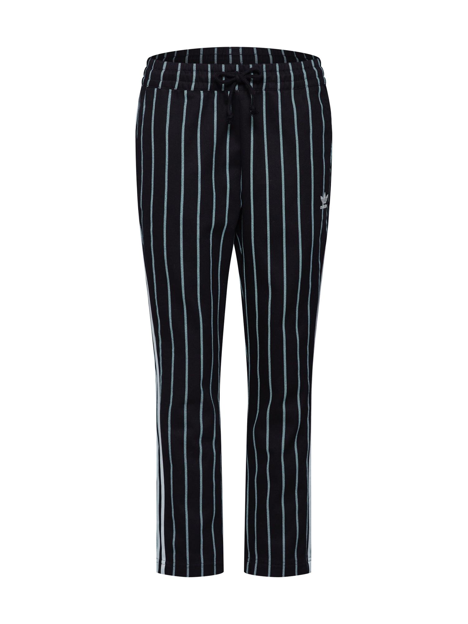 Kalhoty TRACK PANTS grün schwarz ADIDAS ORIGINALS
