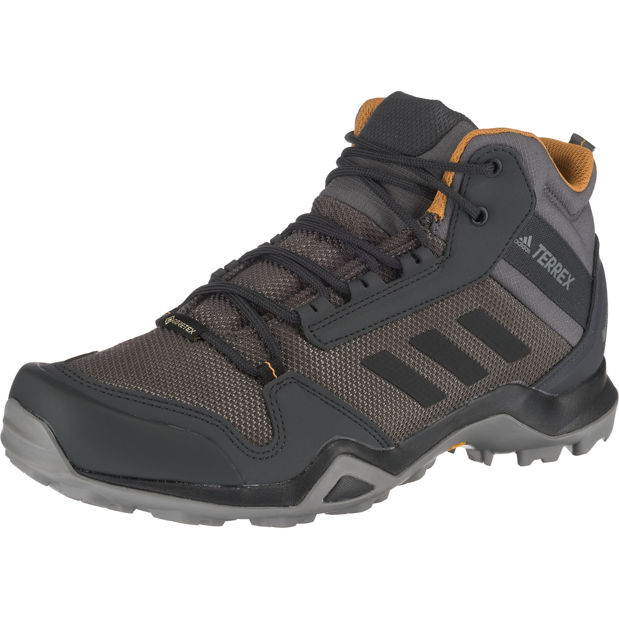 ADIDAS PERFORMANCE Sportiniai batai 'Terrex AX3 Mid GTX' rusvai pilka / pilka / antracito