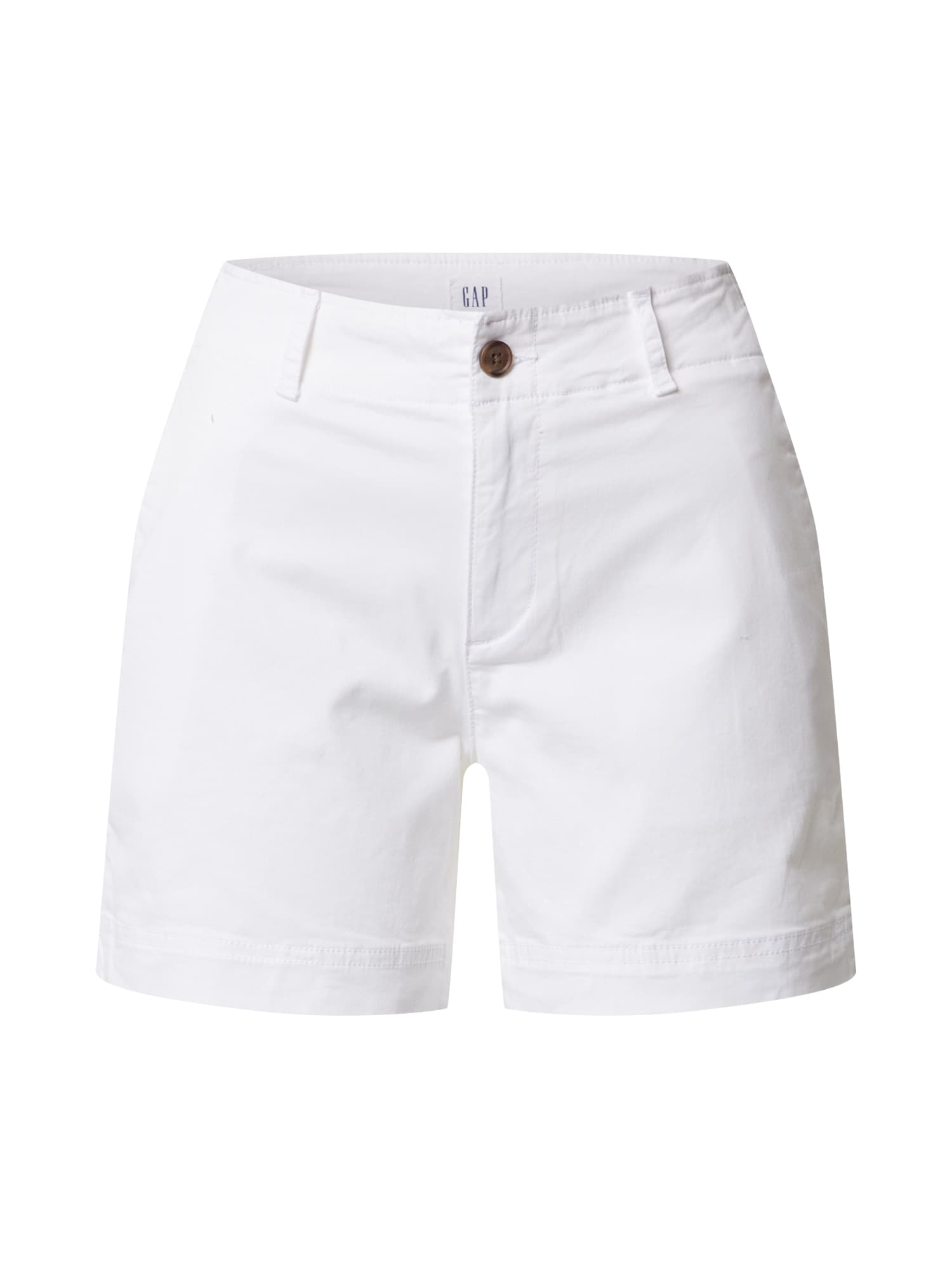 GAP Kelnės 'V-5 IN KHAKI SHORT' balta
