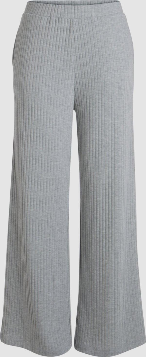 Pieces Molly Gerippte Hose mit breitem Bein