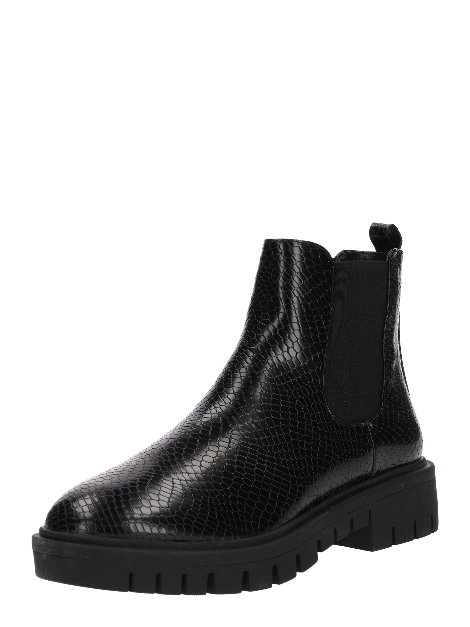 Chelsea boty JETT TEXTURED CLEAT CHELSEA BOOT černá Lost Ink