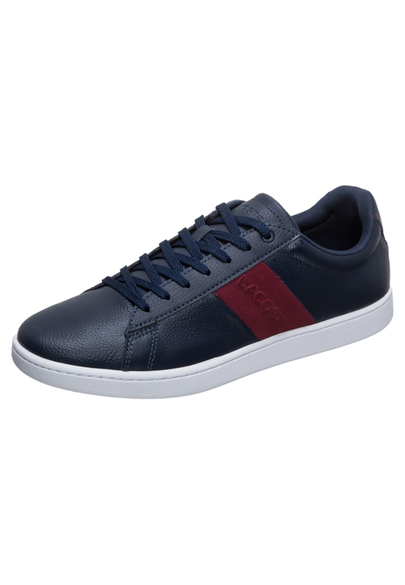 Herren Lacoste Sneaker blau,  rot,  violet, bunt,  mehrfarbig | 05012123429502