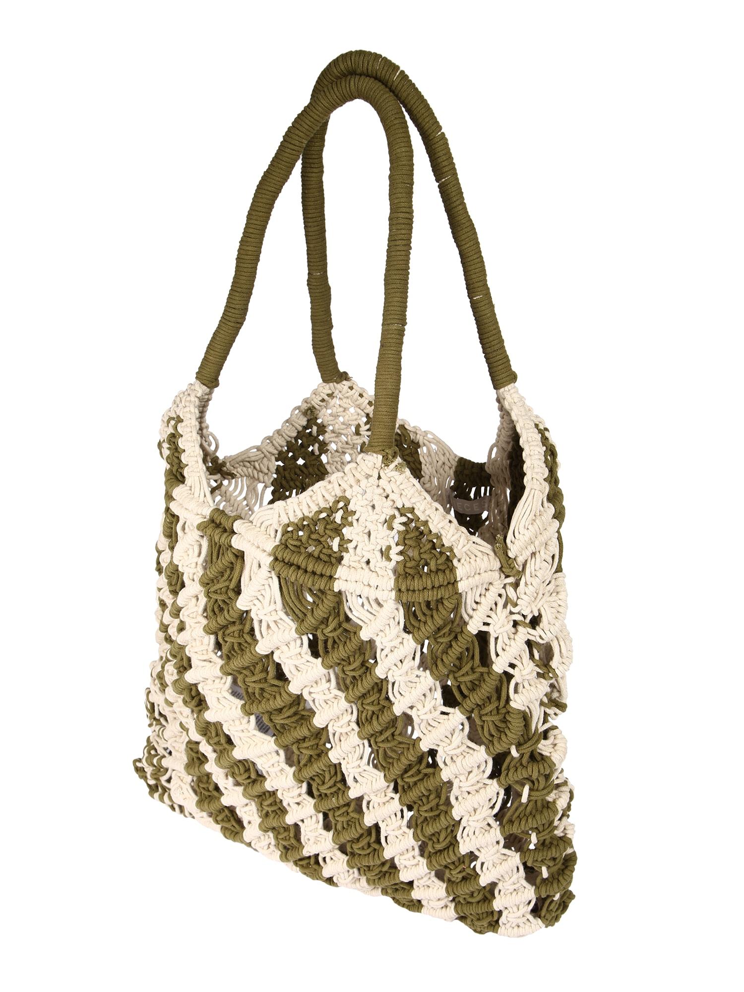 PIECES Pirkinių krepšys 'PCADELE' smėlio