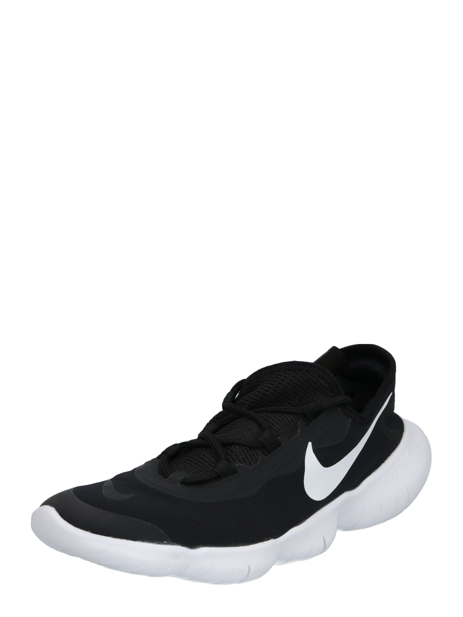 NIKE Bėgimo batai 'Free Run 5.0' balta / juoda