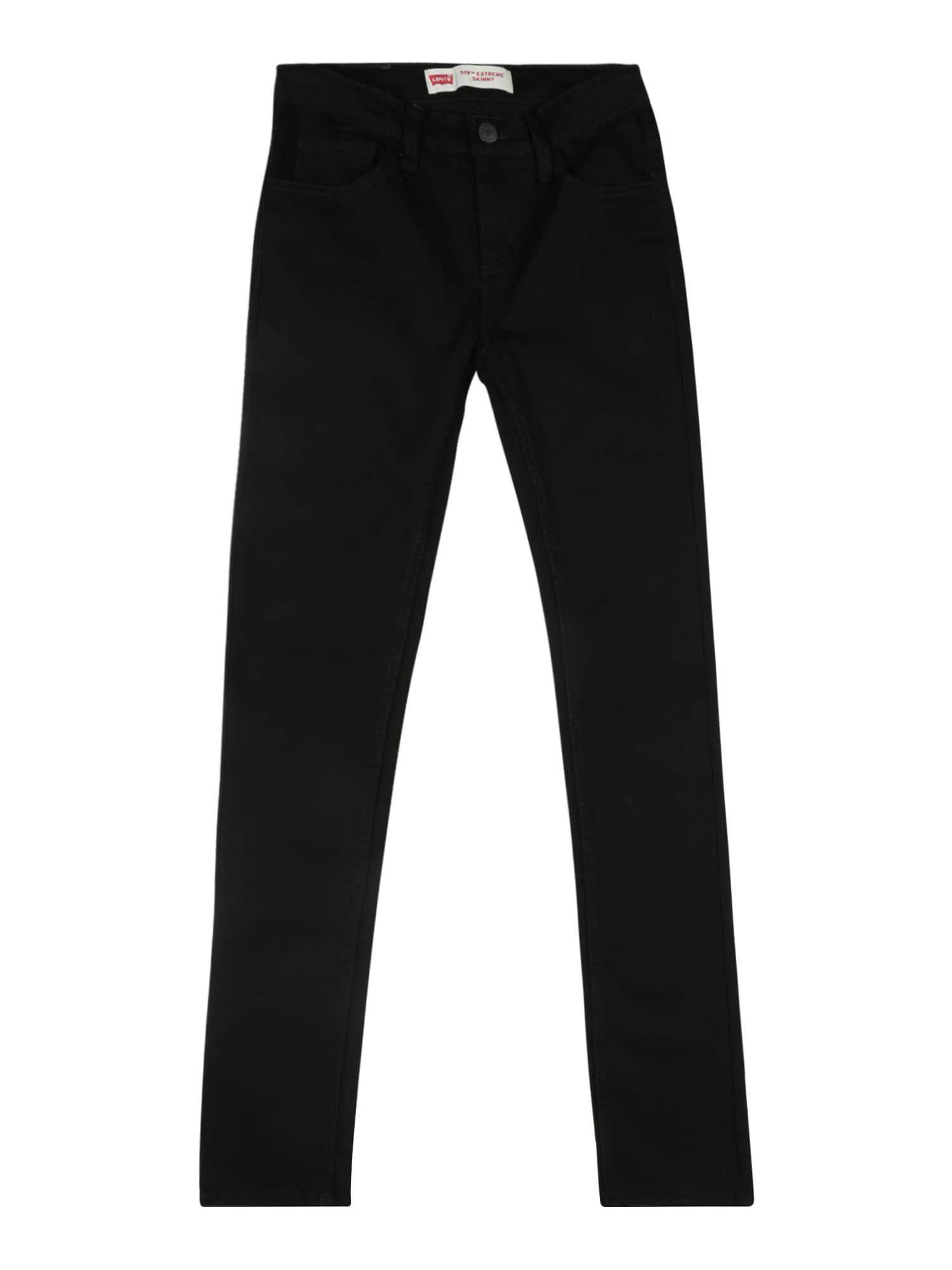 LEVI'S Džinsai '519' juodo džinso spalva