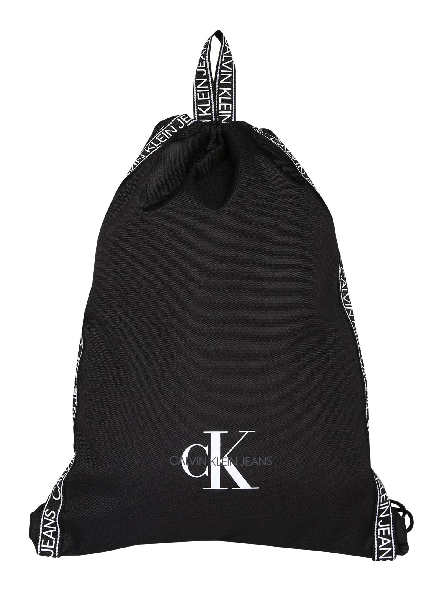 Calvin Klein Jeans Vak 'DRAWSTRING'  čierna